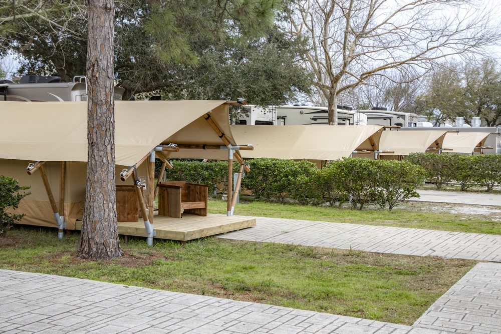 Glamping Tents - Camp Gulf